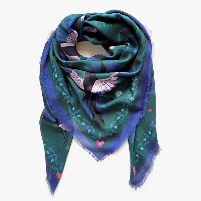 The Treasure Hunters Silk & Modal Scarf