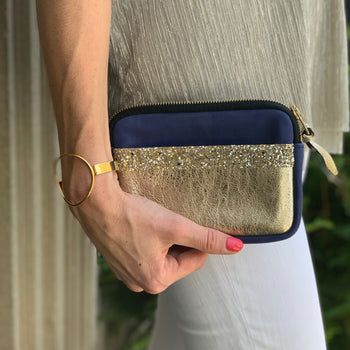 Royal Blue Mini Clutch