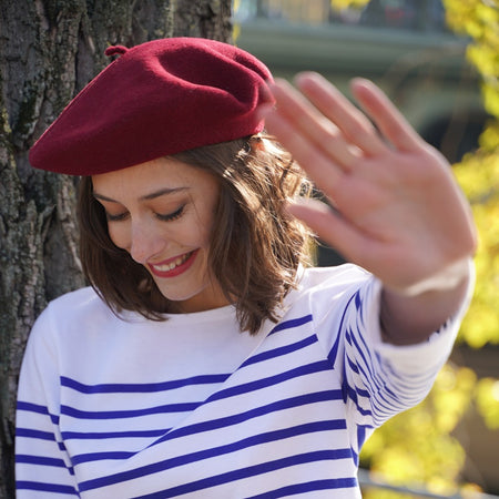 Cranberry French Beret