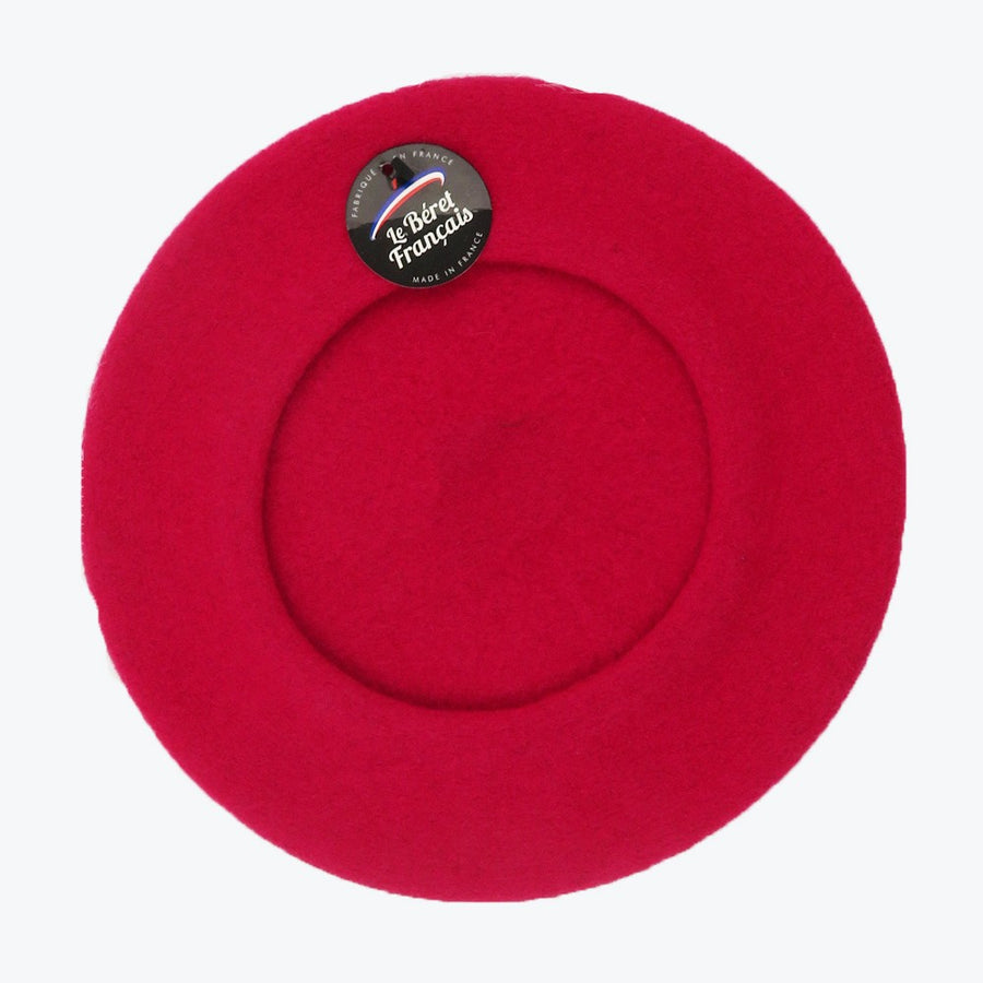 Fushia French Beret