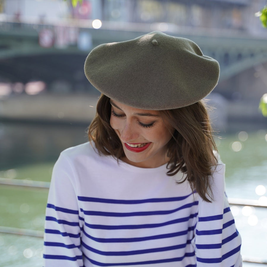 Truffle Grey French Beret