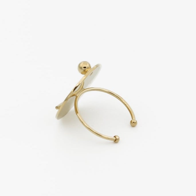 Graphic Gold Ring