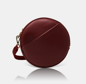 Kasimiro Burgundy Bag