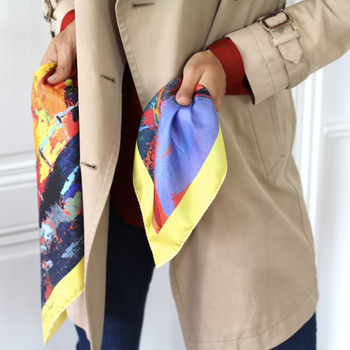 Sails Silk Scarf
