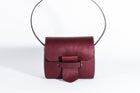 Mia Leather Burgundy Bag