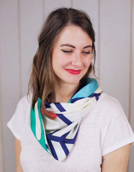 Into the Woods Silk Scarf