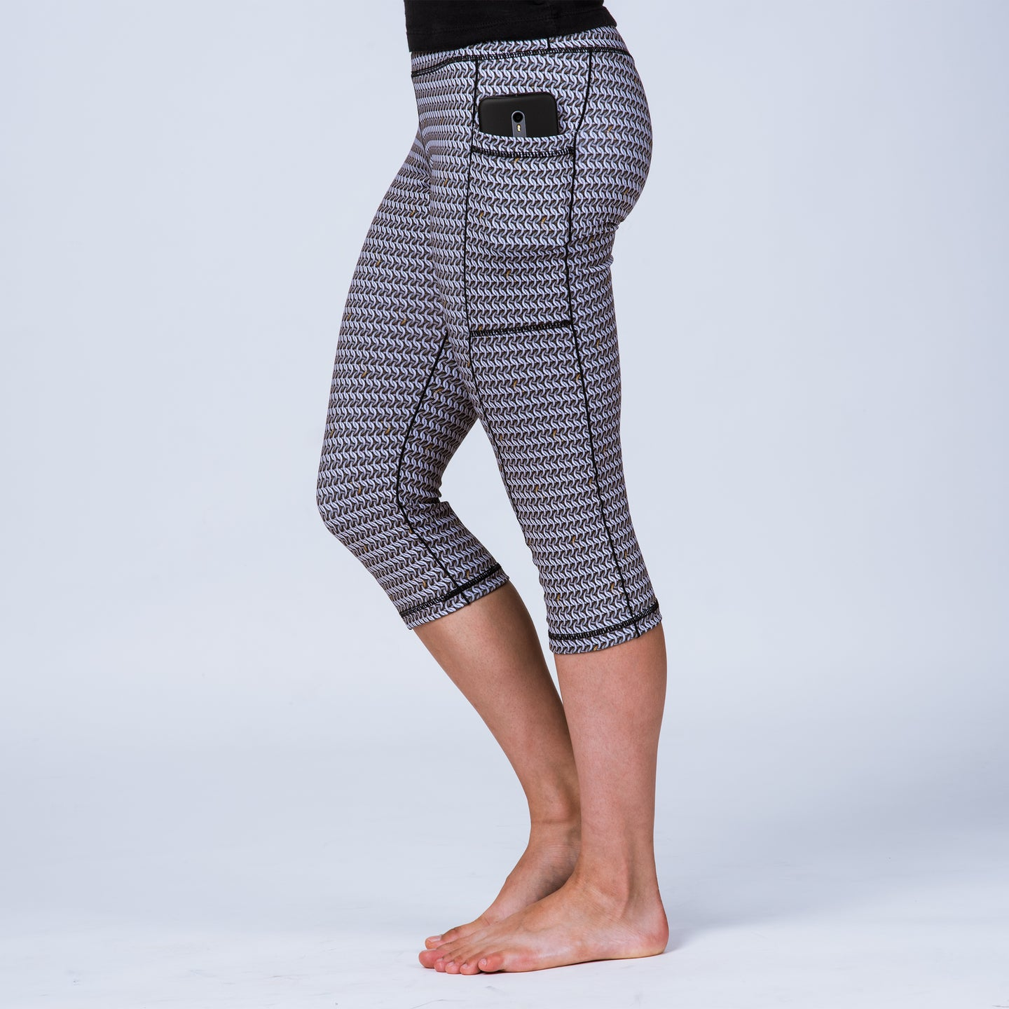 The Maille Capris