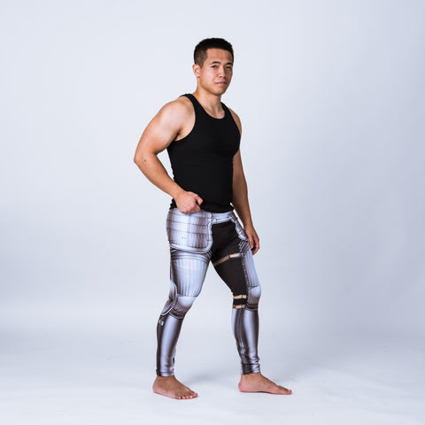 Men's leggings based on Maximillian armor
