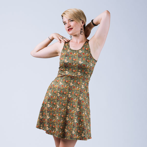 The Valiant Skater Dress