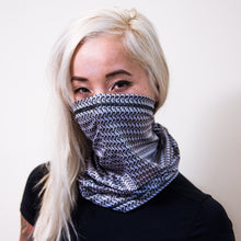 Chainmail scarf, maille armor gaiter, neck buff, multi-functional headwear