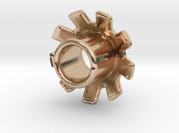 Standard 3D Eyelet 3/16 Inch - 14k Rose Gold Plated Brass