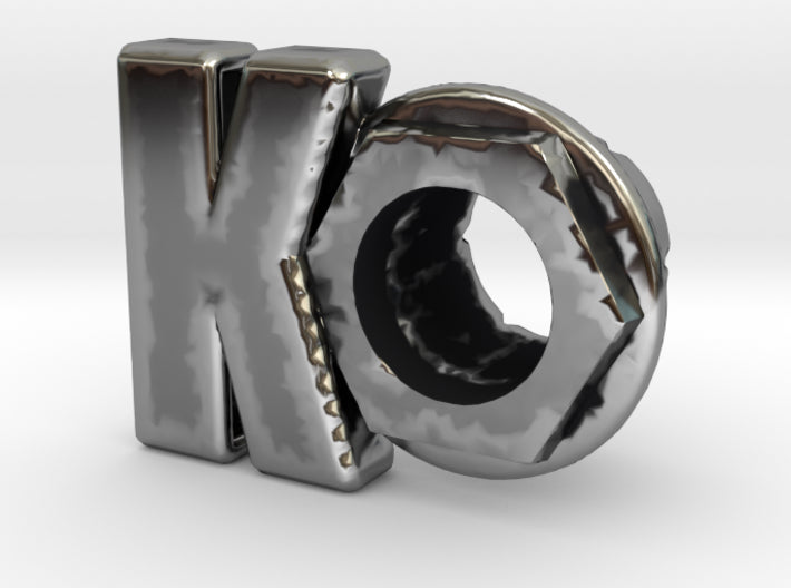 (K) Octagon 3D Eyelet 4/16 Inch Right Hole Exclusively By KORTONS