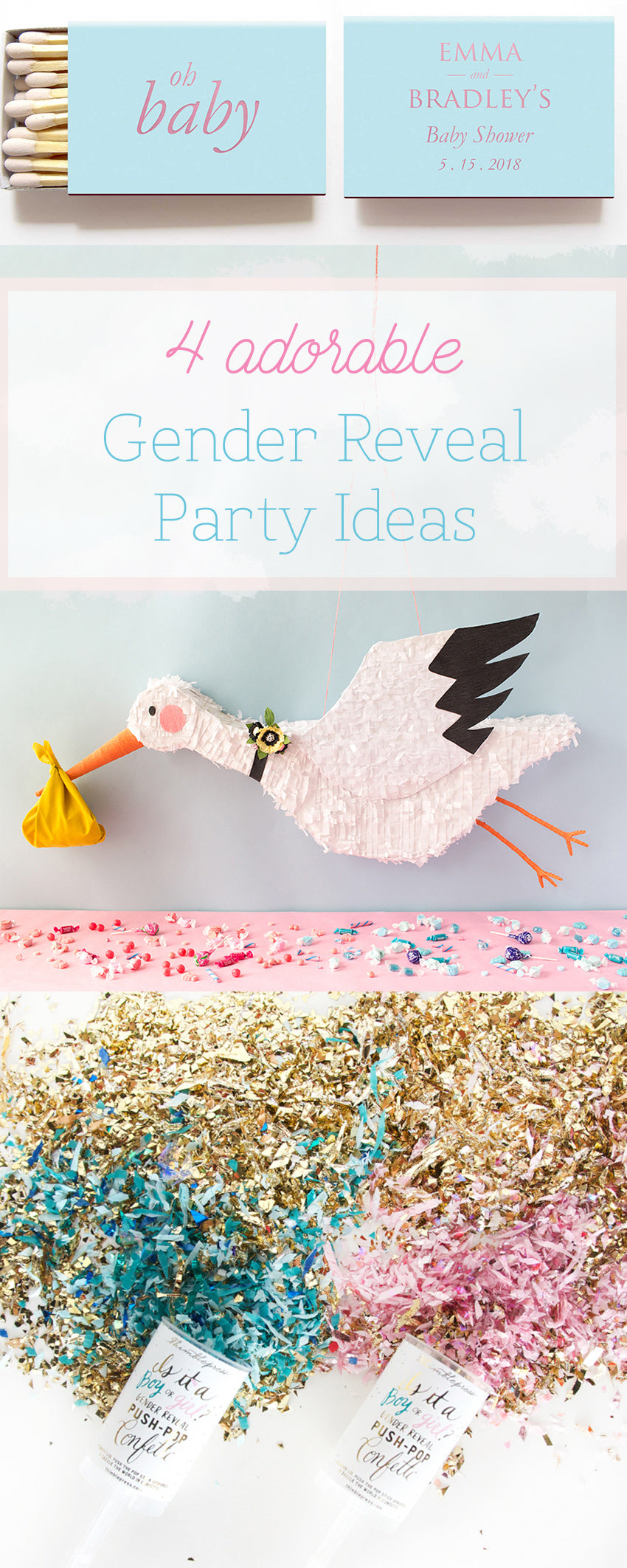 4 Gender Reveal Party Ideas