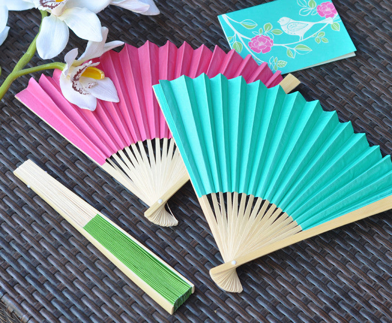 Make Your Wedding Fan-tastic with Hand Fans!
