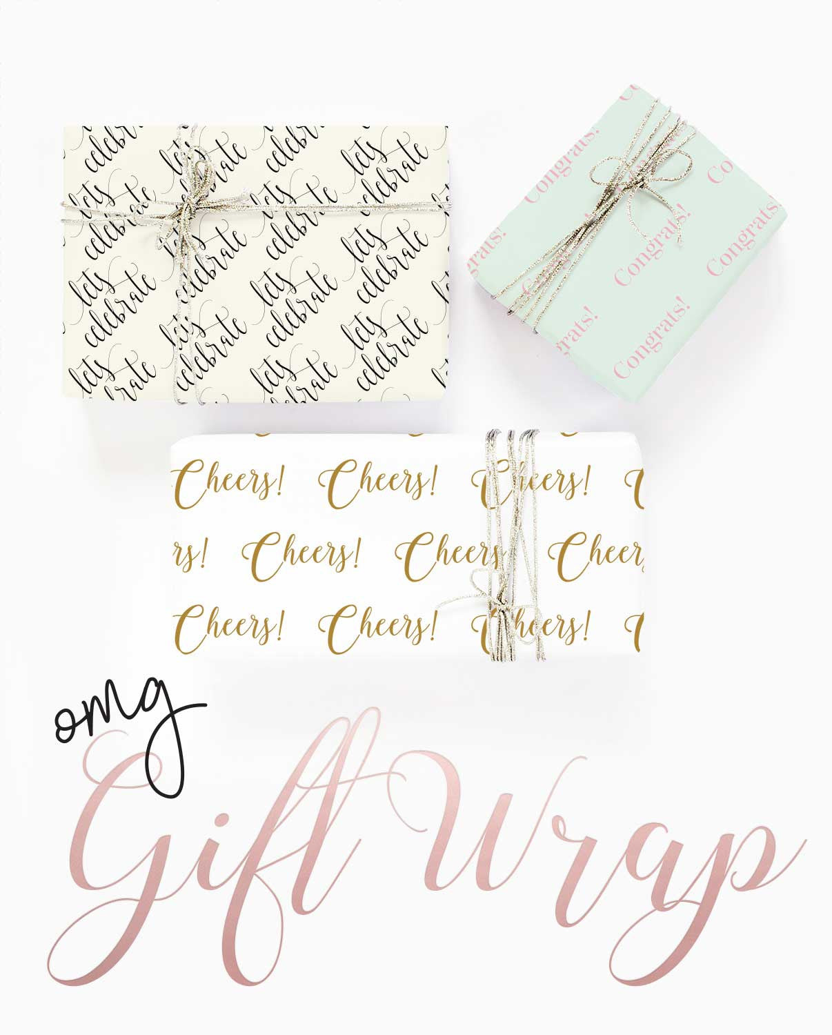 Gift Wrap it up in a Sweet Sentiment
