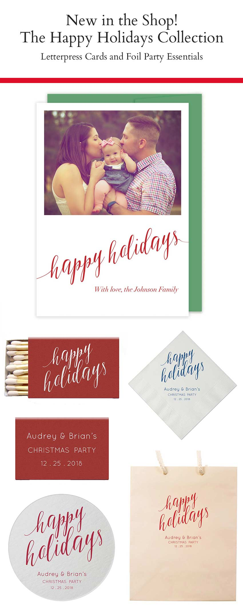 Tis the Season for Holiday Cards! – Tea and Becky