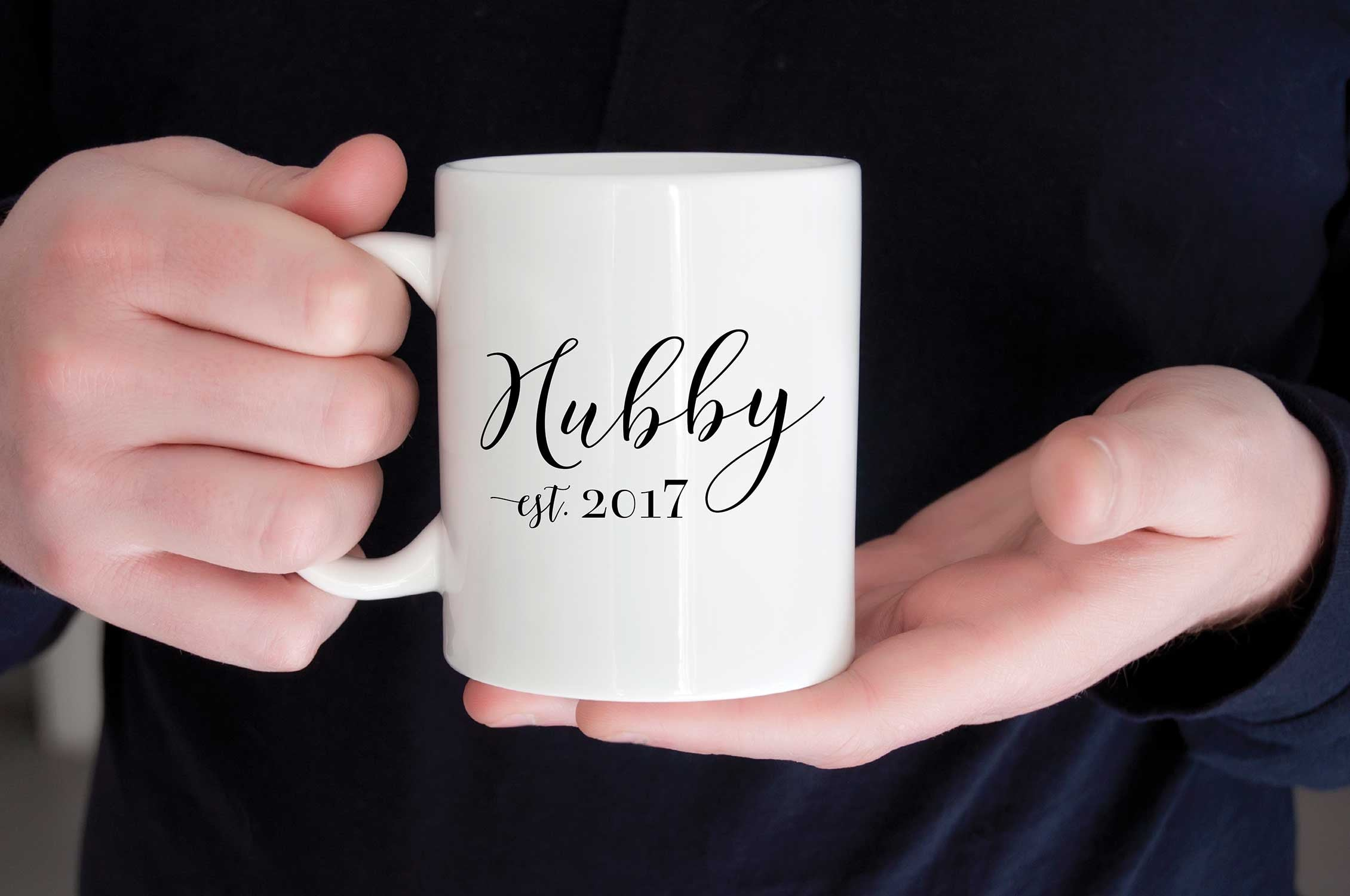 Cozy up with the Hubs and his new Hubby Mug