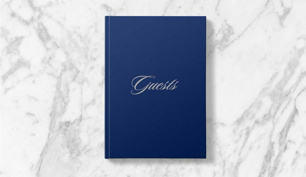 Cherish your wedding moments with a Guest Book