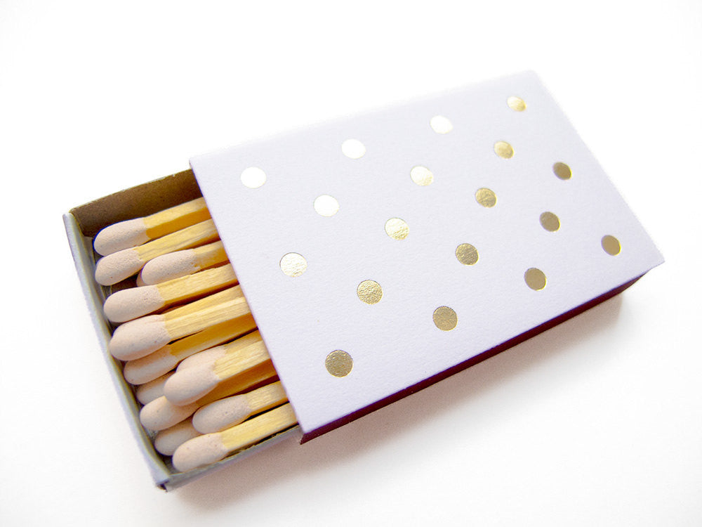 Polka Dot Matchboxes Makes A Cut Above the Retsy's Best List