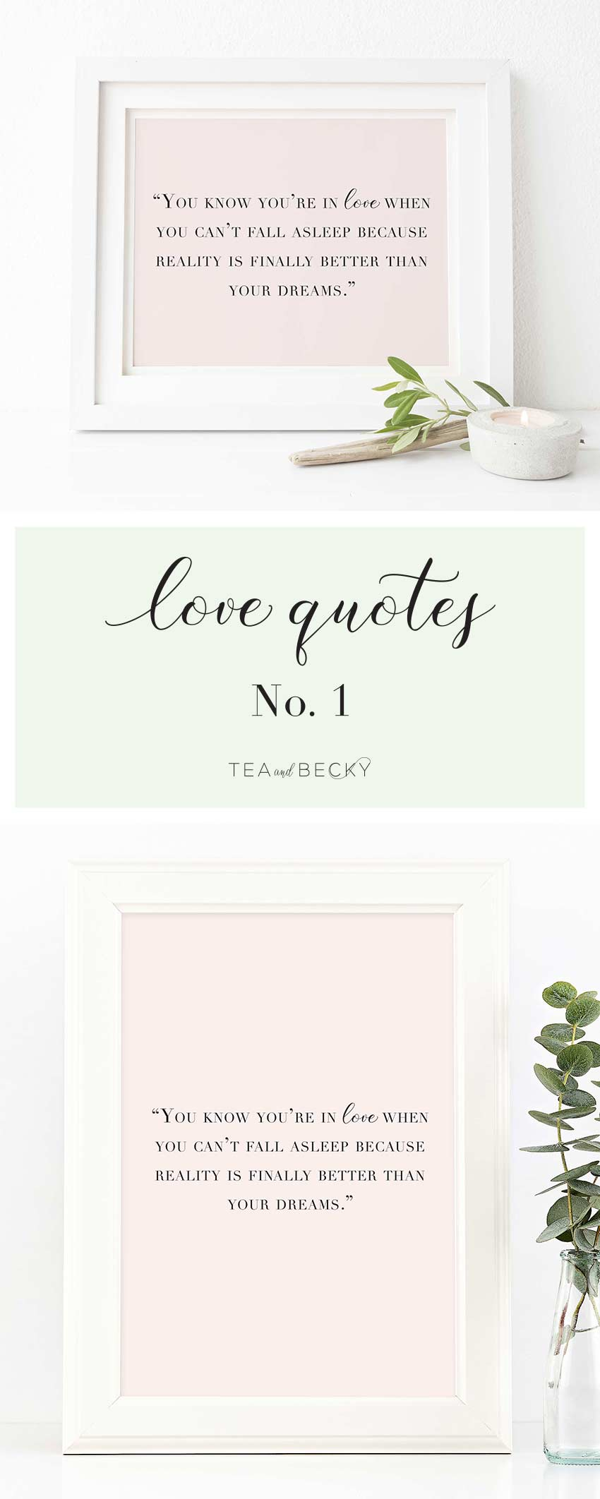 New in the Shop! Love Quotes Art Prints!
