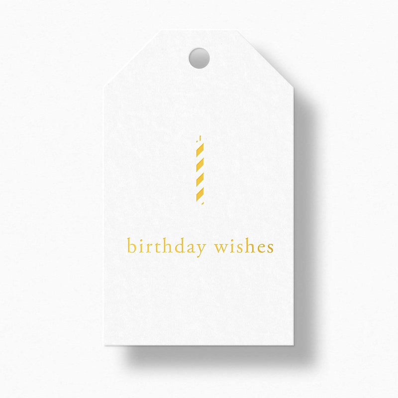Birthday Wishes Gift Tags - Tea and Becky