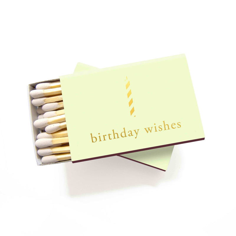 Birthday Wishes Matchboxes - Set of 6 - Tea and Becky