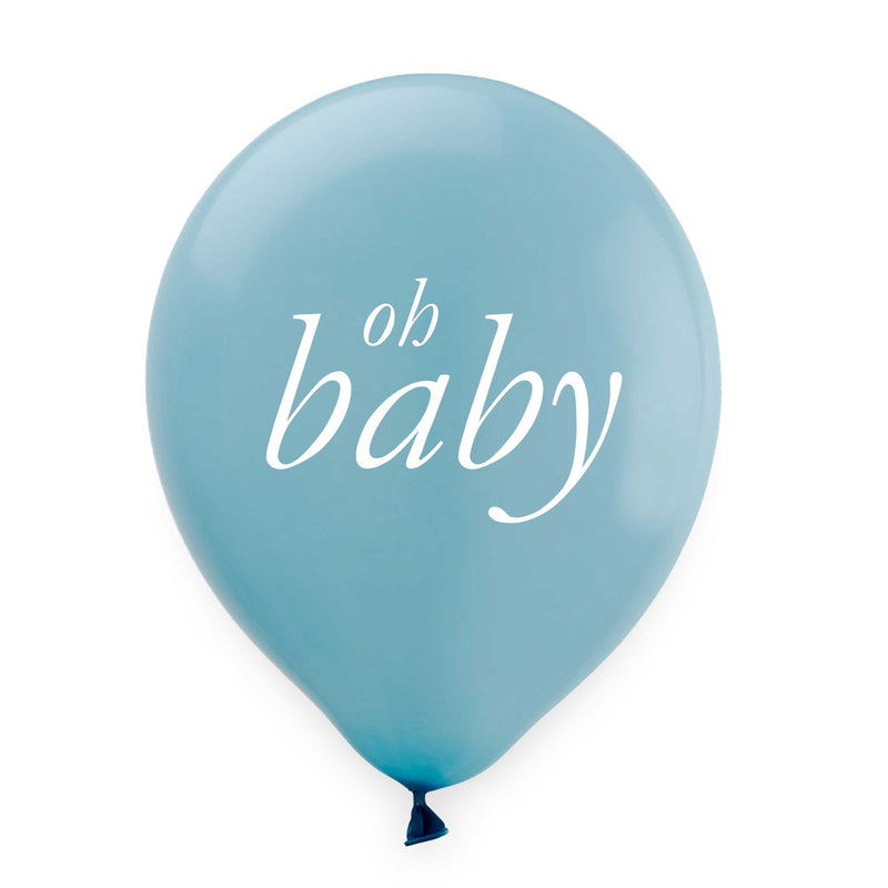 Oh Baby Balloons - Blue - Tea and Becky