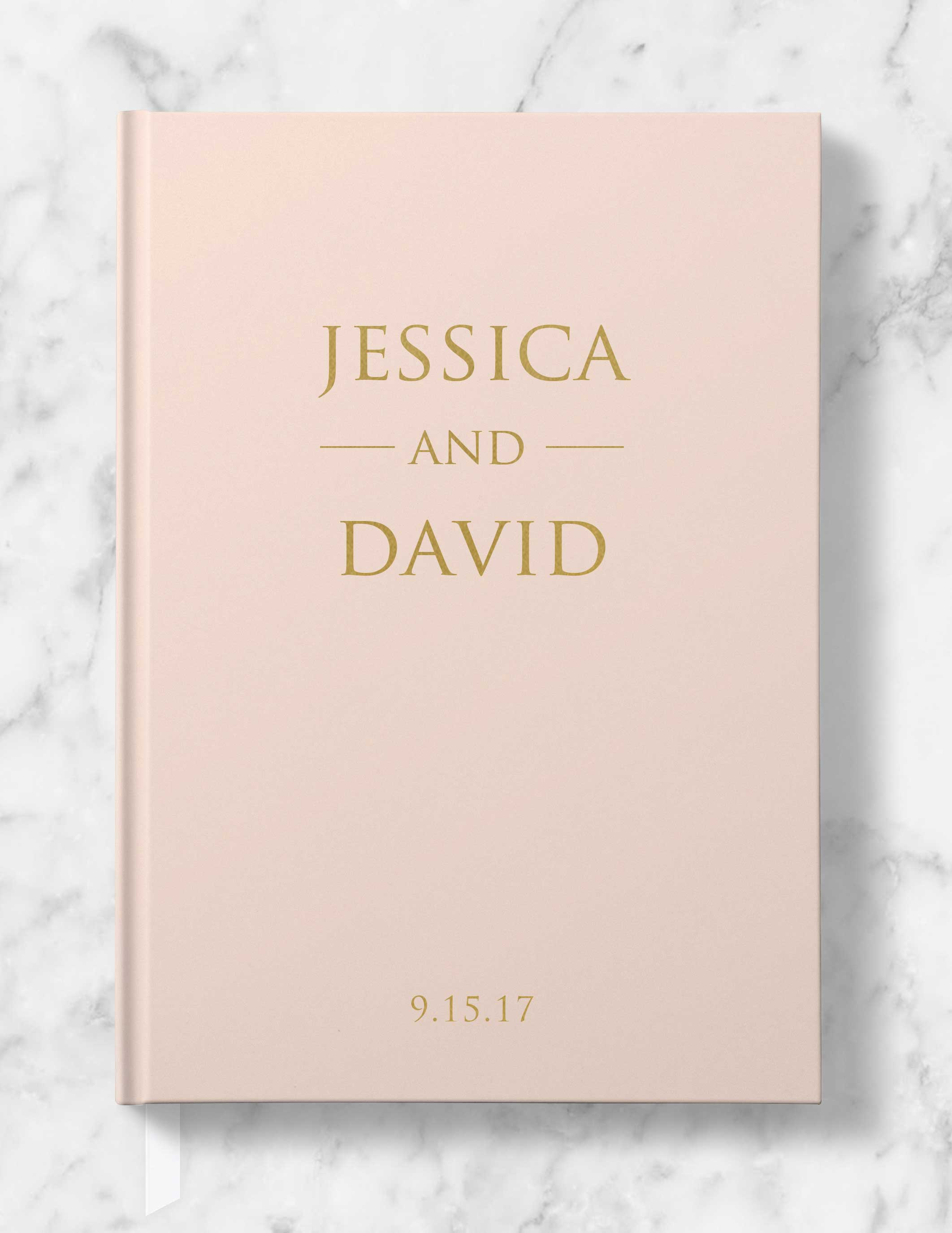 Personalized Wedding Guest Book.Classic Personalized Wedding Guest Book Gold Silver Or Rose Gold Foil Helen Collection