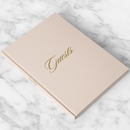 Wedding Guest Book - More Colors - Carrie Collection - Tea and Becky