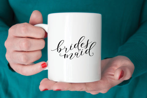 Bridesmaid Mug - Bridal Party Gift - More Colors - Tea and Becky