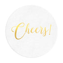 Cheers Coasters - Set of 10 - Tea and Becky