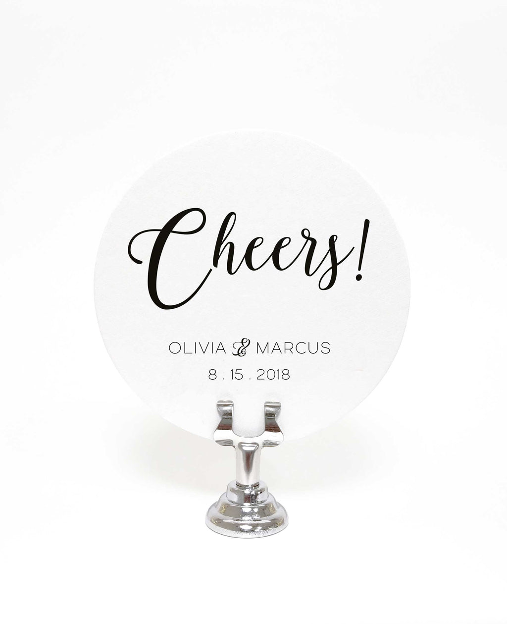 Cheers Coasters – Personalized Wedding Favors - 25 Set – Tea and Becky