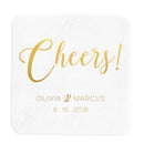 Cheers Coasters – Personalized Wedding Coasters - Tea and Becky