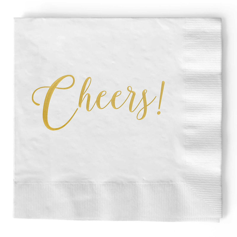 Cheers Napkins - Set of 25 - Tea and Becky