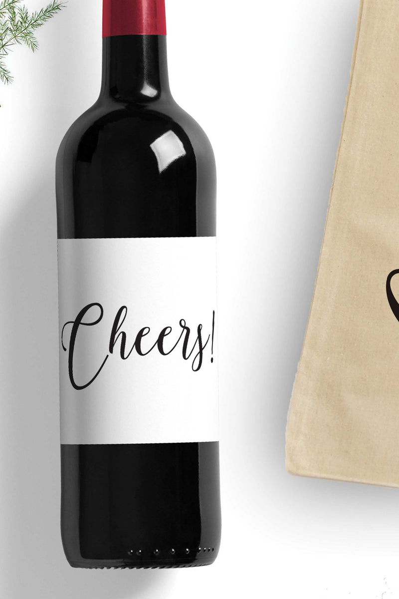 Cheers Wine Bag - Free Shipping - Tea and Becky