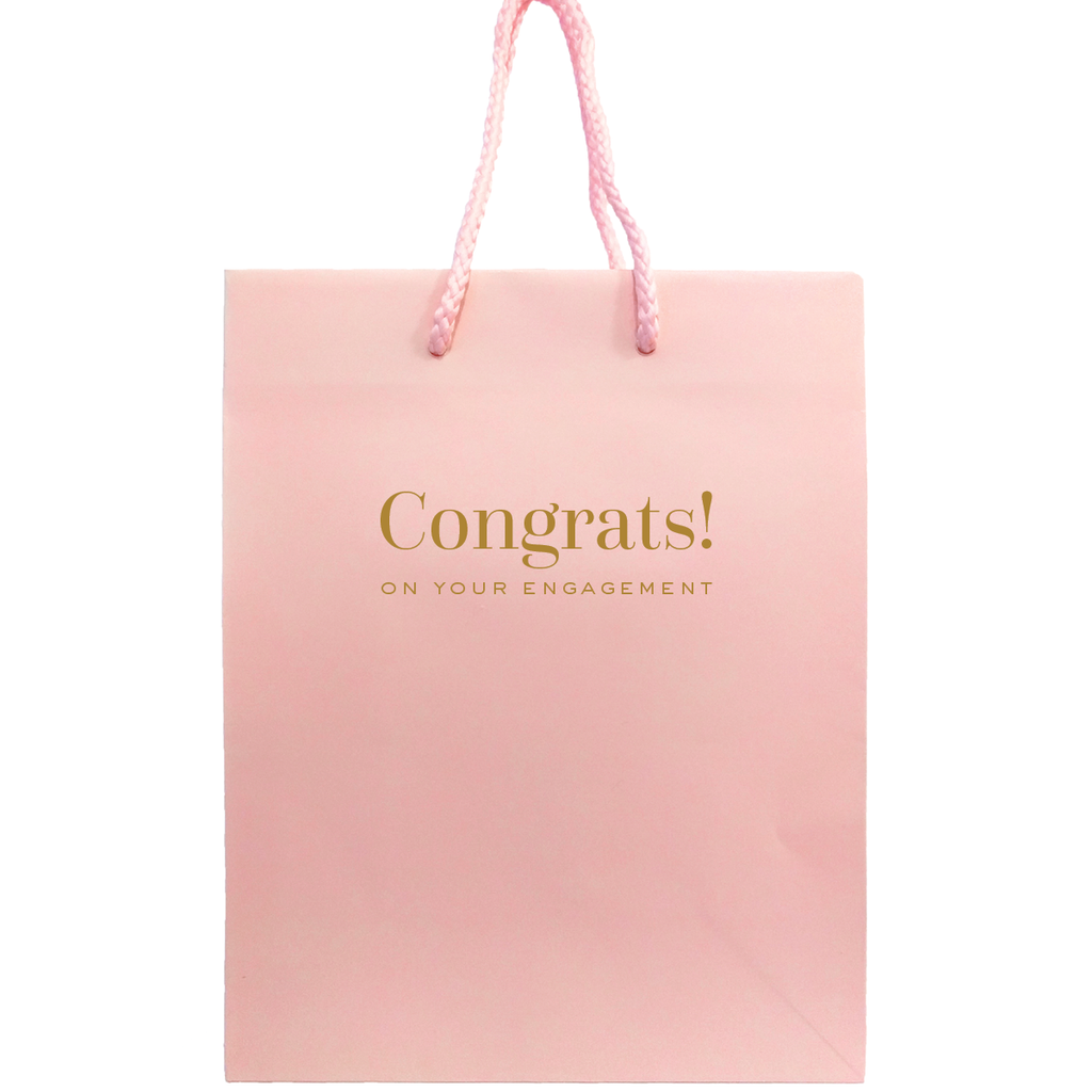 Congrats on Your Engagement Gift Bags - Tea and Becky