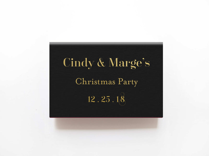 Fa La La Matchboxes - Personalized Matches - Tea and Becky