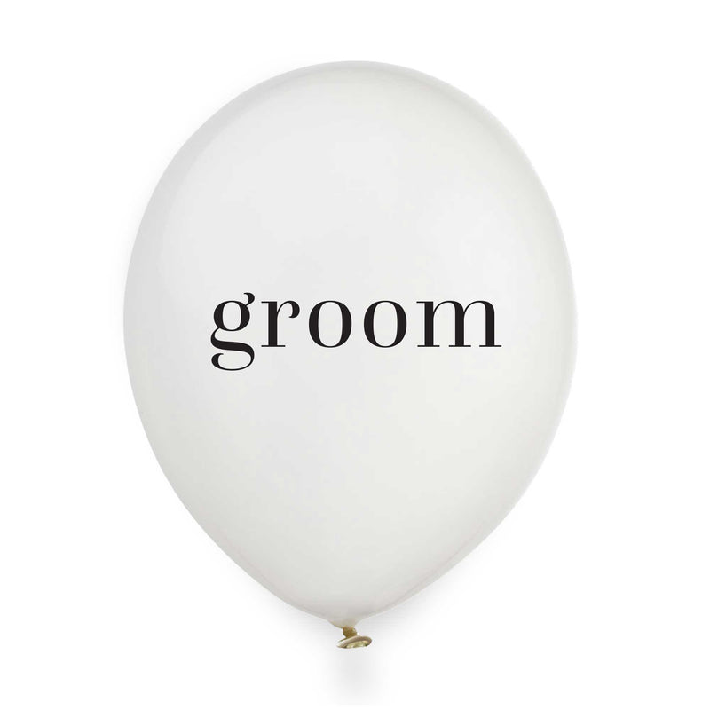 Groom Balloons - Tea and Becky