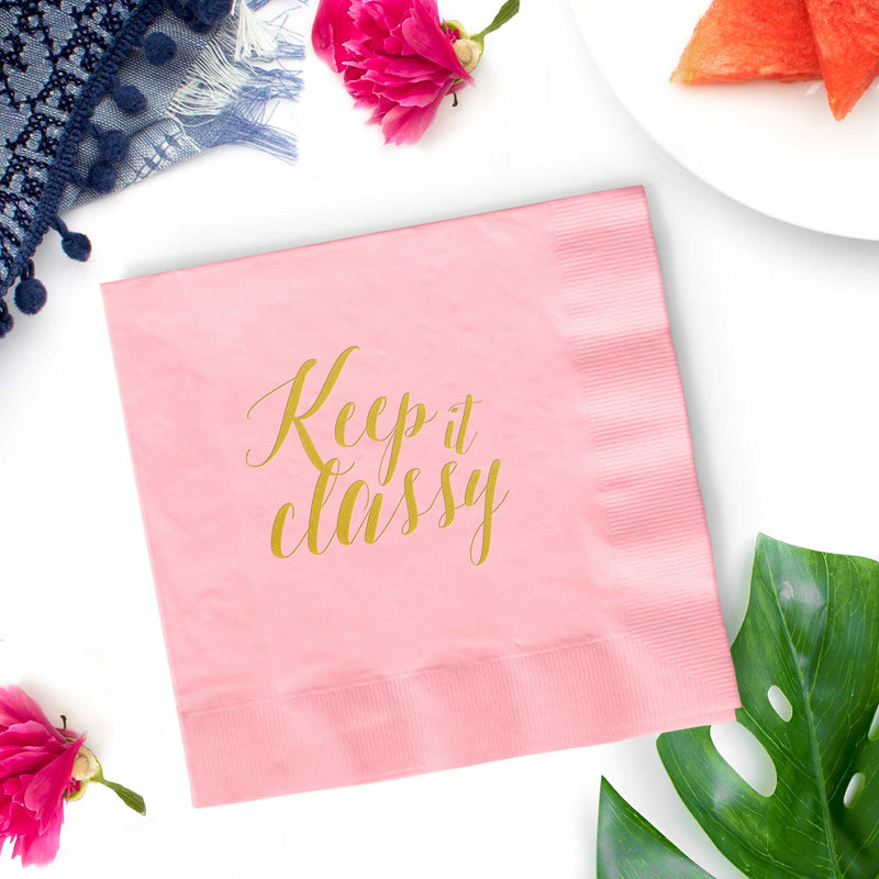 Keep it Classy Napkins - Set of 25 - Tea and Becky