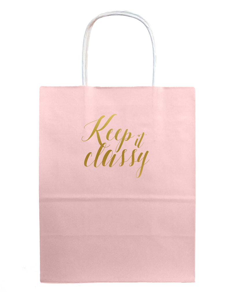 Keep it Classy Gift Bags - Tea and Becky