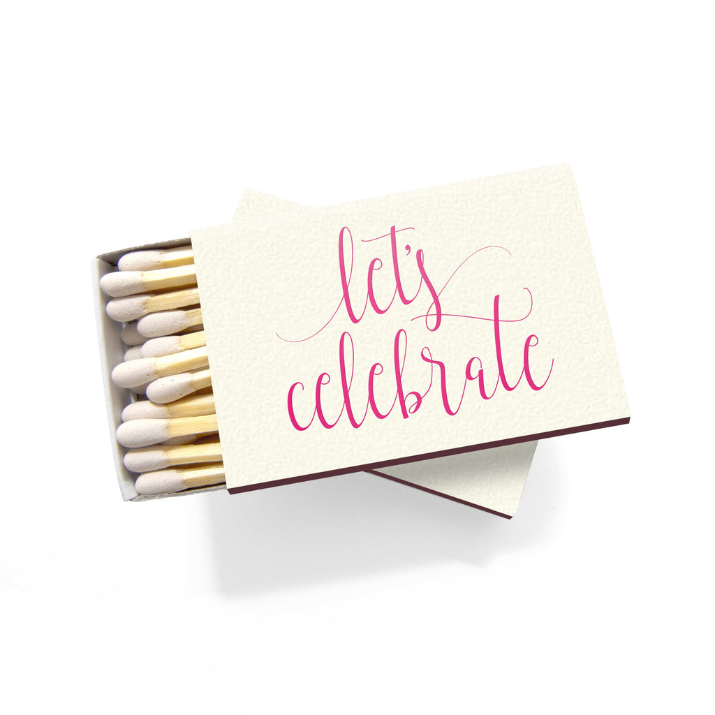 Let's Celebrate Matchboxes - Set of 6 - Tea and Becky