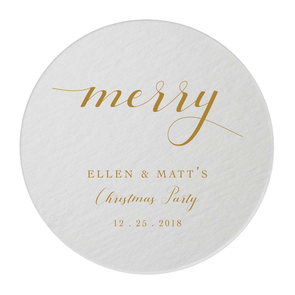 Foil Coasters – Tea and Becky