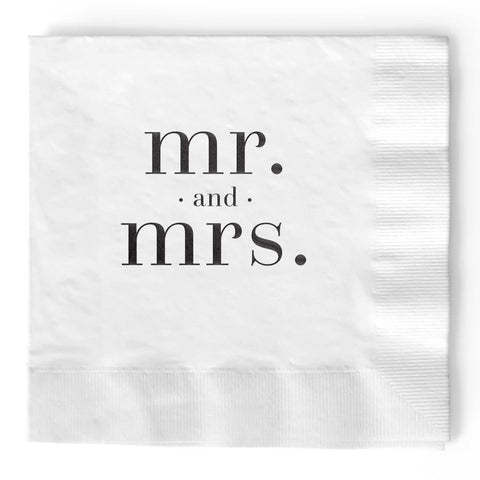 Mr. and Mrs. Napkins - Tea and Becky