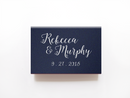 Something Blue Matchboxes - Foil Personalized Matches - Bridget Collection - Tea and Becky
