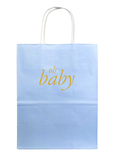 Oh Baby Gift Bags - Blue - Tea and Becky