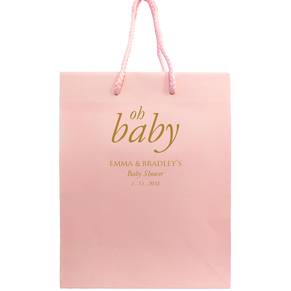 Oh Baby Bags - Personalized Gift Bag - Nora Collection  sc 1 st  Tea and Becky & Oh Baby Bags - Personalized Gift Bag - Nora Collection u2013 Tea and Becky
