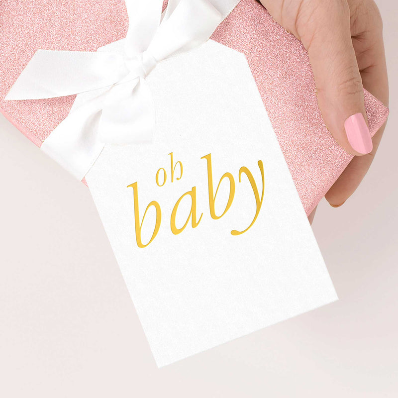 Oh Baby Gift Tags - Tea and Becky