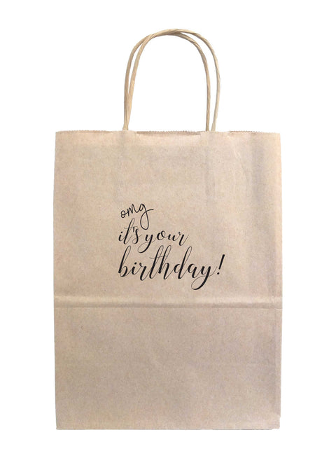 OMG It's Your Birthday Gift Bags - Tea and Becky