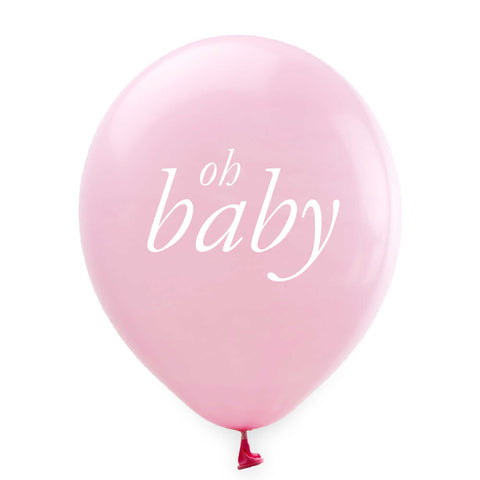 Oh Baby Balloons - Pink - Tea and Becky