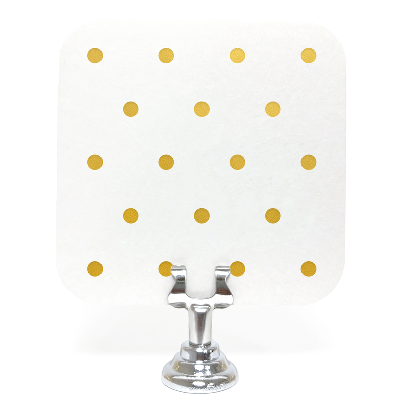 Polka Dot Coasters - Set of 10 - Tea and Becky